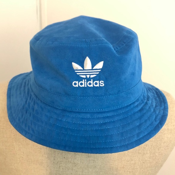 a62161d67c89d adidas Other - Adidas Microsuede Sky Blue Bucket Hat